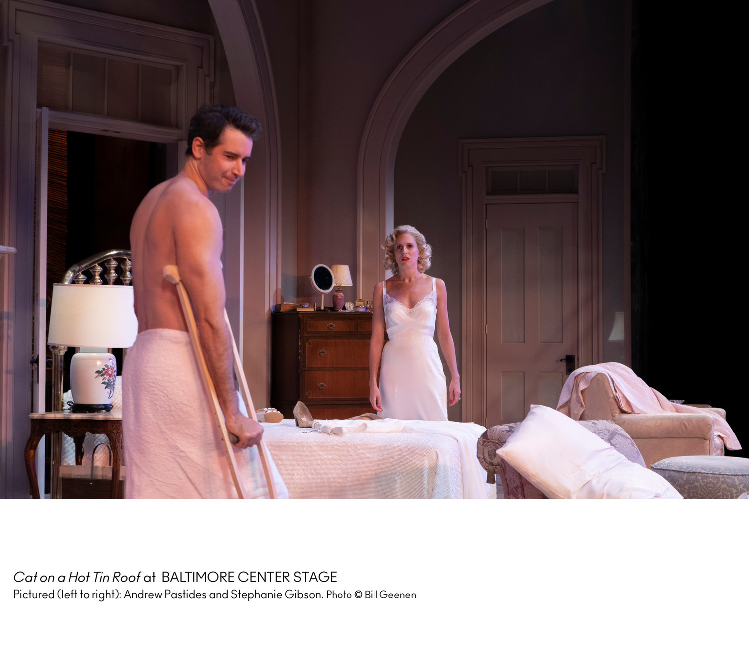 Judith Ivey Enjoyably Gives Us CAT ON A HOT TIN ROOF As A Love Story at Center Stage