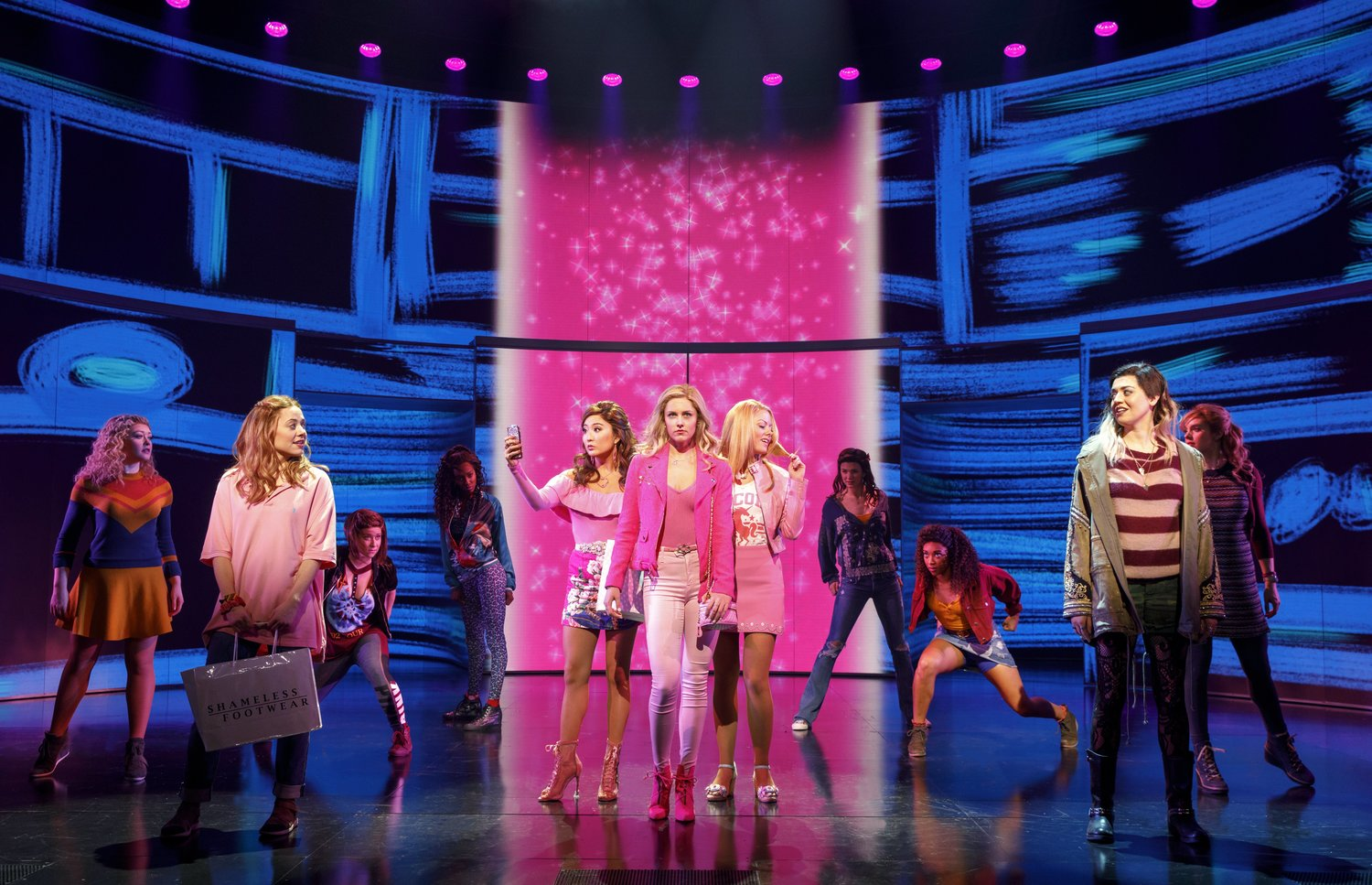 VIDEO Broadway Gets Plastic Watch Highlights Of MEAN GIRLS On Video