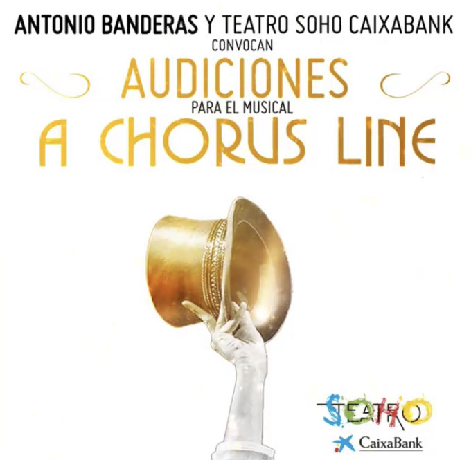 Antonio Banderas Will Co-Direct A CHORUS LINE in Spain; Auditions Announced!