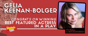 TO KILL A MOCKINGBIRD's Celia Keenan-Bolger Wins Tony for Featured Actress in a Play