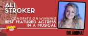 OKLAHOMA!'s Ali Stroker Wins 2019 Tony Award for Best Performance by an Actress in a Featured Role in a Musical