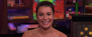 Lea Michele Hints at Broadway Return on WATCH WHAT HAPPENS LIVE