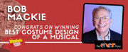THE CHER SHOWs Bob Mackie Wins 2019 Tony Award for Best Costume Design of a Musical Photo
