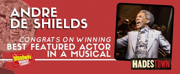 HADESTOWN's Andre De Shields Wins 2019 Tony Award for Best Performance by an Actor in a Featured Role in a Musical