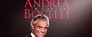 Legendary Tenor Andrea Bocelli Returns To MGM Grand Garden Arena Saturday, Dec. 1