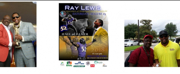 Artist George Gadson and Baltimore Ravens' Retired��