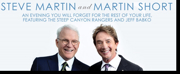 FSCJ Artist Series to Welcome Steve Martin & Martin Short