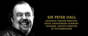 VIDEO: Olivier Awards Updates In Memoriam to Include Sir Peter Hall