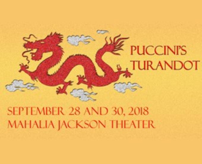 TURANDOT Comes To Mahalia Jackson Theater For The Performing Arts 9/28
