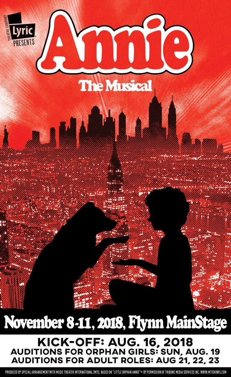 ANNIE Comes to Lyric Theatre Company This Fall