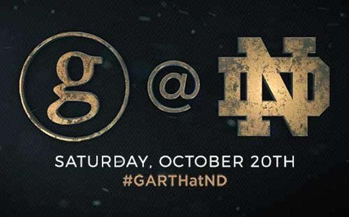 Garth Brooks to Premiere GARTH: LIVE AT NOTRE DAME! on December 2nd