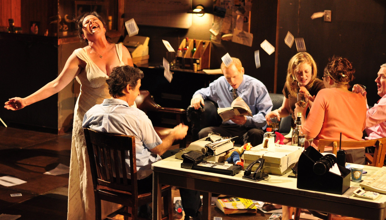 BWW Review: Elevator Repair Service's GATZ is an Adapted Masterpiece