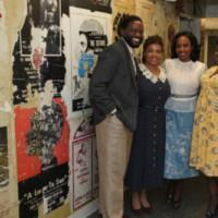 Freeze Frame: Backstage With THE OLD SETTLER's Denise Burse, Pauletta Pearson Washington At The Billie Holiday Theatre Photos