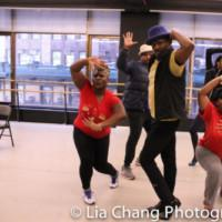 Photo Flash: In Rehearsal With Director/Choreographer Andre De Shields And The Cast O Photo