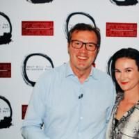 Photo Flash: Andrew Morton Attends Opening Night Of THE DIANA TAPES Photos