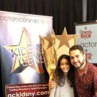 Photo Flash: Broadway's Madison Lagares Talks Broadway At Actors Connection Photo