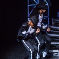 Photo Flash: Kieran Alleyne and Xhanti Mbonzongwana Perform 'Billie Jean' at THRILLER LIVE's 4000th Show