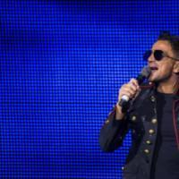 Photo Flash: Peter Andre Makes Guest Appearance at THRILLER LIVE's 4,000th Performanc Photo