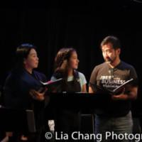 Photo Flash: Jeffrey Li, Telly Leung And More Star In Reading Of CORNER OF BITTER AND Photo