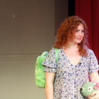 Photo Flash: First Look at Dana Aber's BAGGAGE AT THE DOOR Soloshow at PIT Loft
