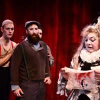 Photo Flash: The Holiday Hit BURNING BLUEBEARD Returns at The Neo-Futurist Theater Photos