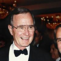 Photo Flash: Rich Little Reflects on the Death of George H.W. Bush