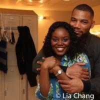 Photo Flash: Backstage With The Cast Of August Wilson's KING HEDLEY II At Two River T Photo