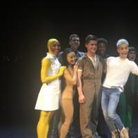 Photo Flash: Frankie Grande Visits THE GIRL WITH THE ALKALINE EYES