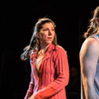 Photo Flash: First Look at Broken Nose Theatre's GIRL IN THE RED CORNER Photo