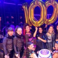 Photo Flash: SIX The Musical Celebrate Their 100th Performance