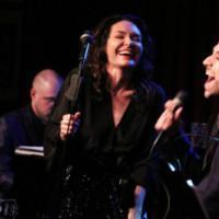 Photo Flash: THE BAND'S VISIT Co-Stars Katrina Lenk and George Abud Come to Birdland