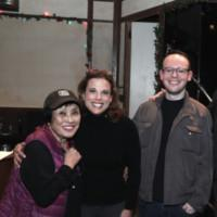 Photo Flash: Pat Suzuki, Jason Robert Brown And Georgia Stitt Visit SMART BLONDE Photo