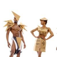 Photo Flash: Broadway Models 'Coutrash Couture' For New Musical REVELATION Photo