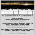 Damira Feldman Produces the First Ever Maui Outstanding Piano Amateurs Festival