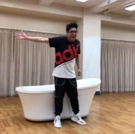 VIDEO: Watch George Salazar Take On 'Michael In the Bathroom' in Rehearsals for BE MO Photo