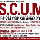 S.C.U.M. THE VALERIE SOLANAS STORY Comes to Dixon Place Photo
