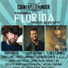 Country Thunder Music Festival Heads to Kissimmee, Florida
