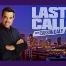 Scoop: Upcoming Guests on LAST CALL WITH CARSON DALY on NBC, 12/7-12/14