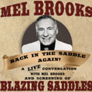 The Backlot Project Hosts An Evening with Mel Brooks Photo