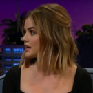 VIDEO: Lucy Hale Is Very Into Pimple Popping Video