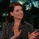 VIDEO: Anne Hathaway Tells Kimmel About Her Theatre Roots at the Paper Mill Playhouse Video