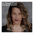 Natalie Weiss To Conduct Vocal Performance Master Class In Scotch Plains, NJ