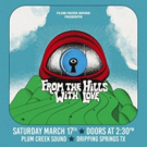 Israel Nash Announces Plum Creek Sound Presents: From The Hills With Love 3rd Annual Party on March 17
