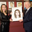 Photo Coverage: Samantha Barks is Honored With Portrait at Sardi's