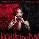 New Years Day Announce 2019 Unbreakable Headline Tour Photo