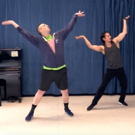 DANCE CAPTAIN DANCE ATTACK: Ben Dances Off to Agrabah with ALADDIN's Mike Cannon! Photo