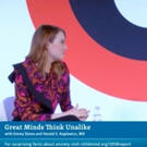 VIDEO: Emma Stone Speaks With The Child Mind Institute at Advertising Week New York 2018