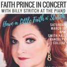 Perry Payne Presents Faith Prince In Concert With Billy Stritch At The Piano