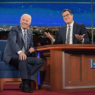 Former VP Joe Biden to Return to LATE SHOW; Elton John to Perform 11/13