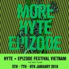 Epizode Festival in Vietnam Presents HYTE Stage Photo